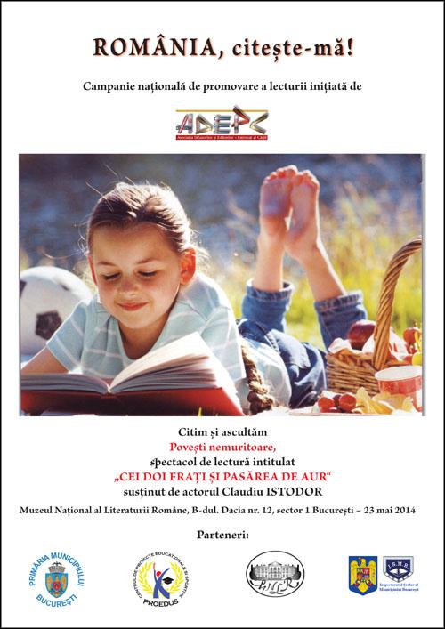 Afis - Romania citeste-ma_2014_Muzeul Literaturii_1_Layout 1
